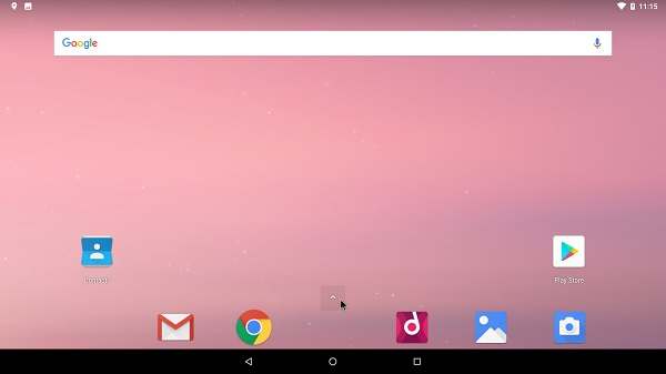 Launcher Android x86