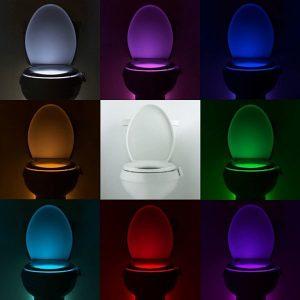 Lumière pour WC