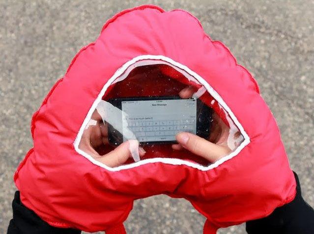 gant fenetre smartphone