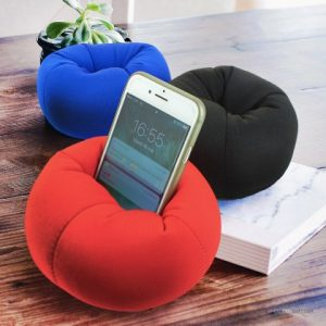 mini pouf pour smartphone