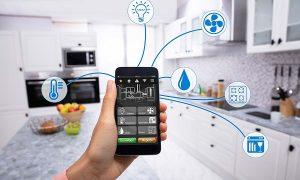 smart home smartphone