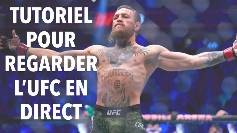 UFC en direct en France